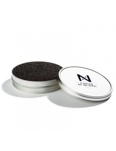 A ladle of caviar box