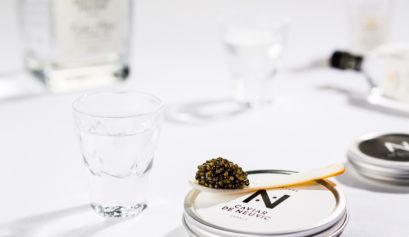 quantité de caviar