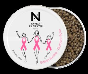 Octobre rose Caviar de Neuvic s'engage